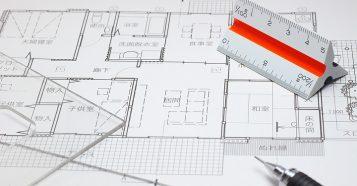 建築系図面の例