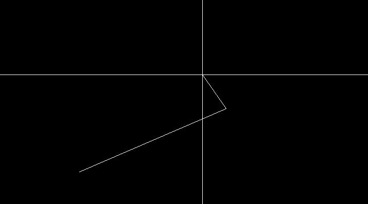 線分の作図完了