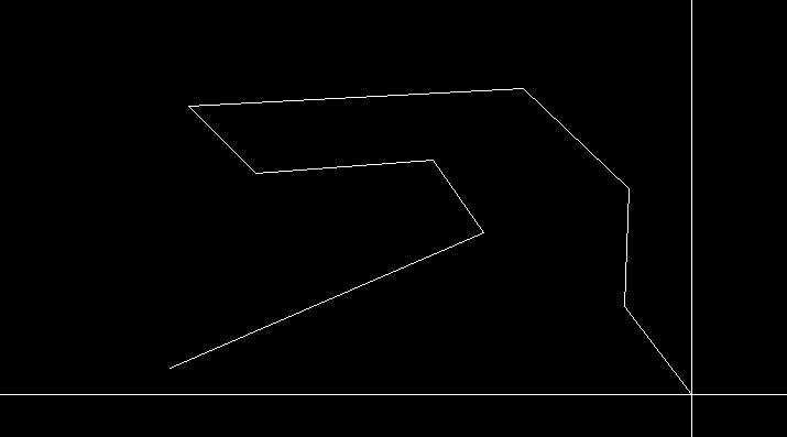 線分で折れ線を作図
