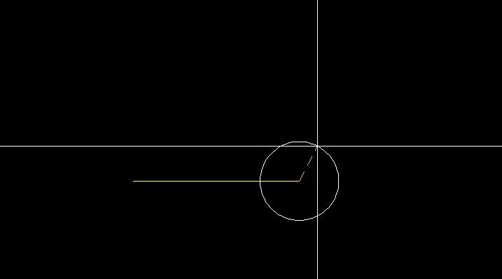 円の中心点を指定