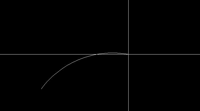 円弧の通過点を指定