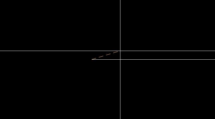 線分の端点を楕円の中心に
