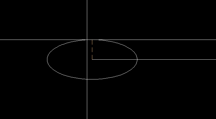 楕円のふたつめの半径入力