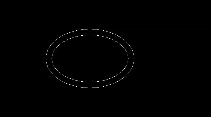 楕円を使った図形の例
