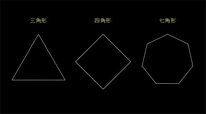 色々な多角形