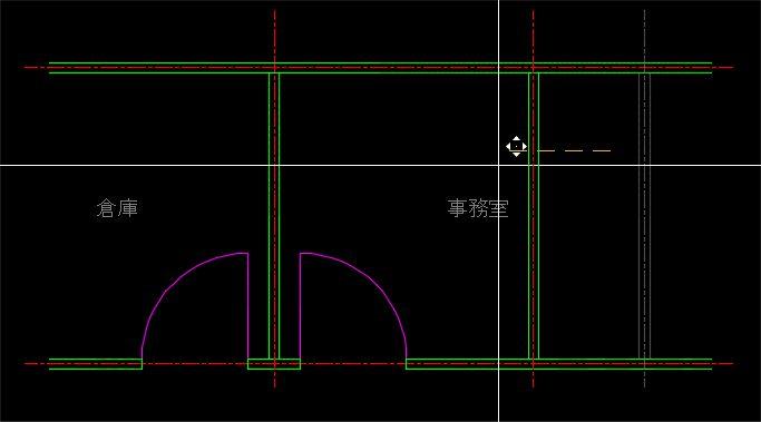 移動の基準点を画面上から指定