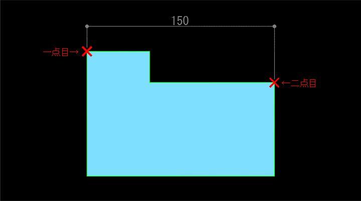 一般的な寸法のパターン