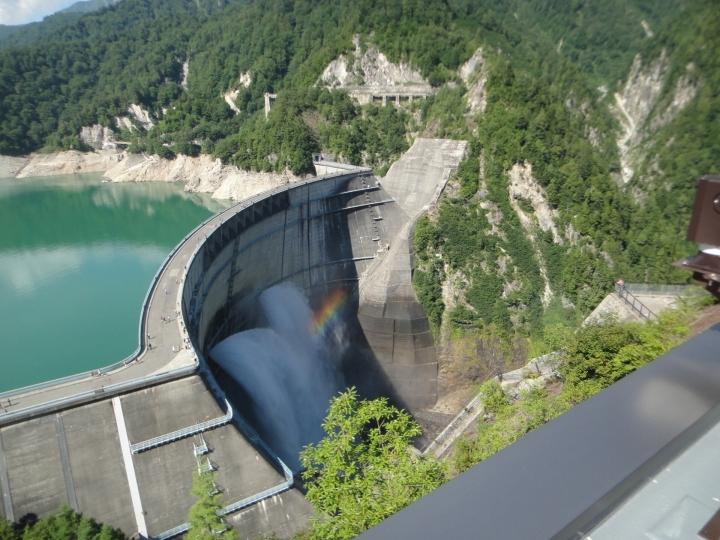 ダムもそのままのサイズで作図