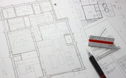 建築図面の例